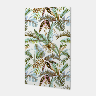Miniature de image de Wild botany jungle Canvas, Live Heroes
