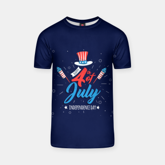 Thumbnail image of HAPPY INDEPENDENCE DAY T-shirt, Live Heroes