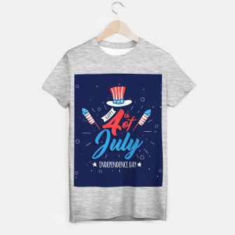 Thumbnail image of HAPPY INDEPENDENCE DAY T-shirt regular, Live Heroes