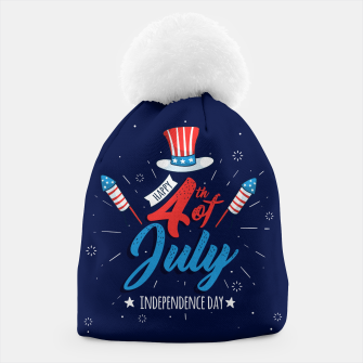 Thumbnail image of HAPPY INDEPENDENCE DAY Beanie, Live Heroes