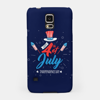 Thumbnail image of HAPPY INDEPENDENCE DAY Samsung Case, Live Heroes