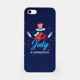 Thumbnail image of HAPPY INDEPENDENCE DAY iPhone Case, Live Heroes