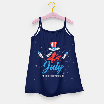 Thumbnail image of HAPPY INDEPENDENCE DAY Girl's dress, Live Heroes