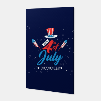 Thumbnail image of HAPPY INDEPENDENCE DAY Canvas, Live Heroes