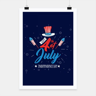 Thumbnail image of HAPPY INDEPENDENCE DAY Poster, Live Heroes