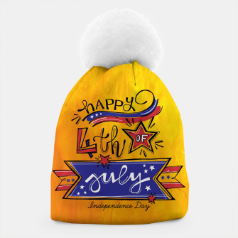 Thumbnail image of Proud to be American, HAPPY INDEPENDENCE DAY  Beanie, Live Heroes