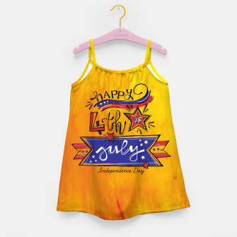 Thumbnail image of Proud to be American, HAPPY INDEPENDENCE DAY  Girl's dress, Live Heroes