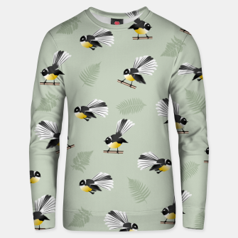 Thumbnail image of Fantail Bird Pattern Unisex sweater, Live Heroes