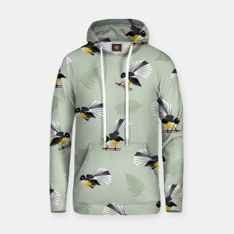 Thumbnail image of Fantail Bird Pattern Hoodie, Live Heroes