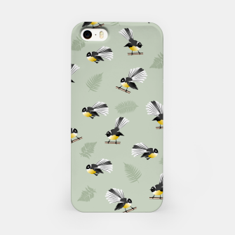 Thumbnail image of Fantail Bird Pattern iPhone Case, Live Heroes