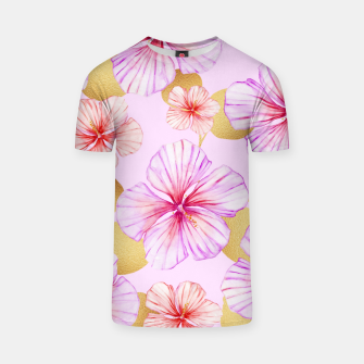 Thumbnail image of Fancy Tropical Pattern T-Shirt, Live Heroes