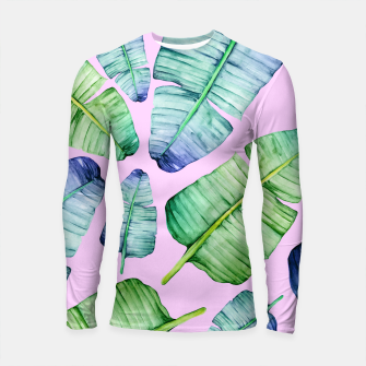 Thumbnail image of Fancy Tropical Pattern Longsleeve rashguard, Live Heroes