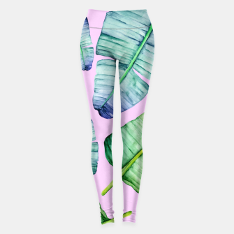 Thumbnail image of Fancy Tropical Pattern Leggings, Live Heroes