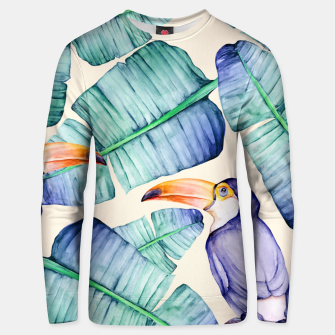 Thumbnail image of Fancy Tropical Pattern Unisex sweatshirt, Live Heroes