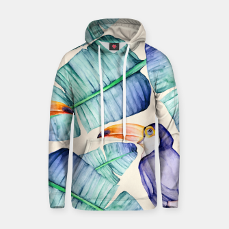 Thumbnail image of Fancy Tropical Pattern Kapuzenpullover, Live Heroes