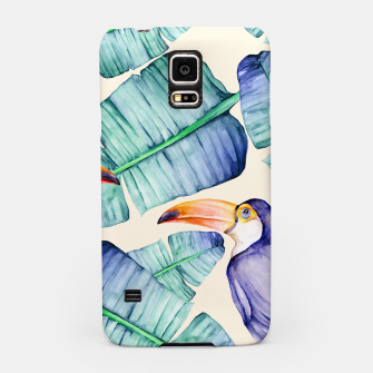 Thumbnail image of Fancy Tropical Pattern Handyhülle für Samsung, Live Heroes