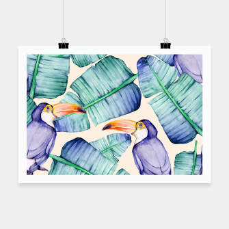 Thumbnail image of Fancy Tropical Pattern Plakat, Live Heroes