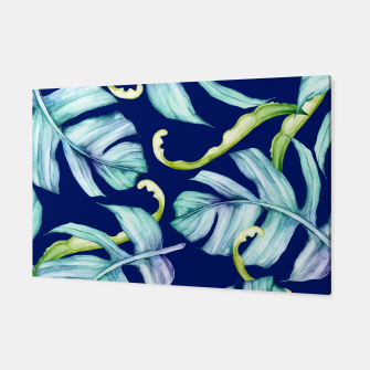 Thumbnail image of Fancy Tropical Pattern Canvas, Live Heroes