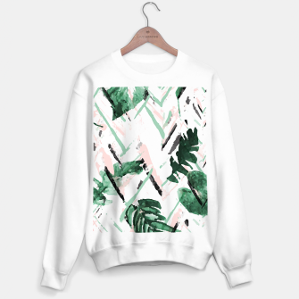 Miniature de image de TROPICAL PAINT Sudadera regular, Live Heroes