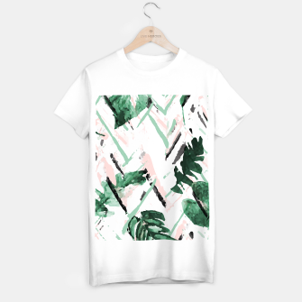 Miniature de image de TROPICAL PAINT Camiseta Regular, Live Heroes