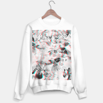 Miniature de image de Tropical glitch Sudadera regular, Live Heroes