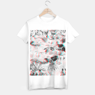 Miniature de image de Tropical glitch Camiseta Regular, Live Heroes