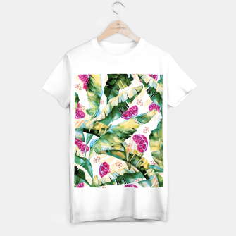 Miniature de image de Banana leaf & Pomegranate II Camiseta Regular, Live Heroes