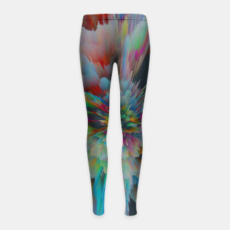 Thumbnail image of 064 Girl's leggings, Live Heroes
