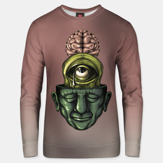 Thumbnail image of Where is my mind Color Unisex sweater, Live Heroes