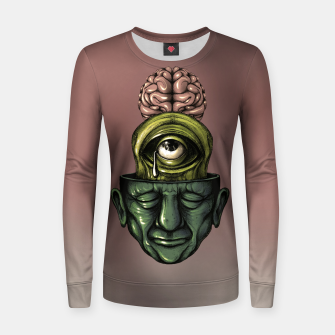 Thumbnail image of Where is my mind Color Women sweater, Live Heroes