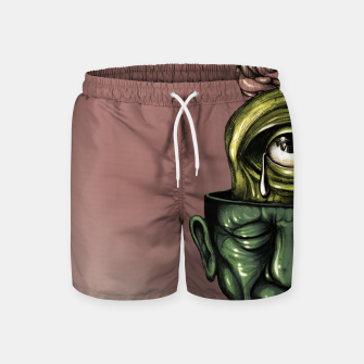 Thumbnail image of Where is my mind Color Swim Shorts, Live Heroes