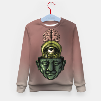 Thumbnail image of Where is my mind Color Kid's sweater, Live Heroes