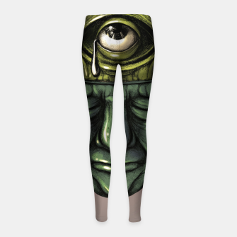Thumbnail image of Where is my mind Color Girl's leggings, Live Heroes