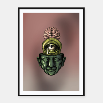 Thumbnail image of Where is my mind Color Framed poster, Live Heroes