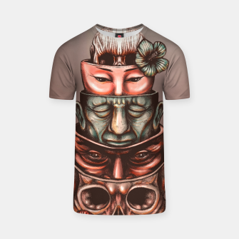 Thumbnail image of Russian Dolls Color T-shirt, Live Heroes