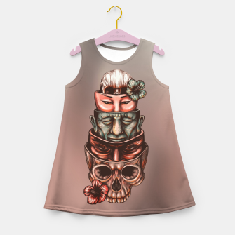 Imagen en miniatura de Russian Dolls Color Girl's summer dress, Live Heroes