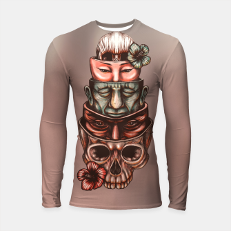 Thumbnail image of Russian Dolls Color Longsleeve rashguard , Live Heroes
