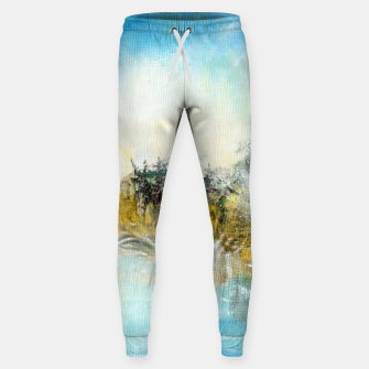 Thumbnail image of At the lake 600dpi Abstract art Sweatpants, Live Heroes