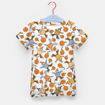 Thumbnail image of Tumbling Scarecrows Kid's t-shirt, Live Heroes