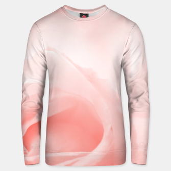 Thumbnail image of Coral Rose Close-up Unisex sweater, Live Heroes