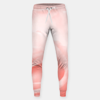 Thumbnail image of Coral Rose Close-up Sweatpants, Live Heroes