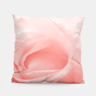 Thumbnail image of Coral Rose Close-up Pillow, Live Heroes
