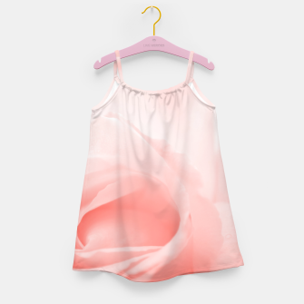 Thumbnail image of Coral Rose Close-up Girl's dress, Live Heroes