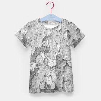 Thumbnail image of Nature Texture Print Kid's t-shirt, Live Heroes