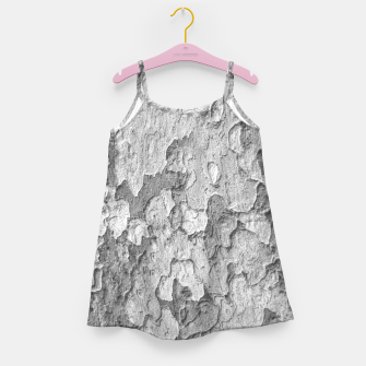 Miniatur Nature Texture Print Girl's dress, Live Heroes
