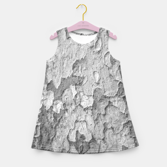 Miniatur Nature Texture Print Girl's summer dress, Live Heroes