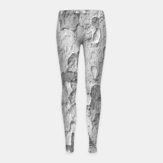 Thumbnail image of Nature Texture Print Girl's leggings, Live Heroes
