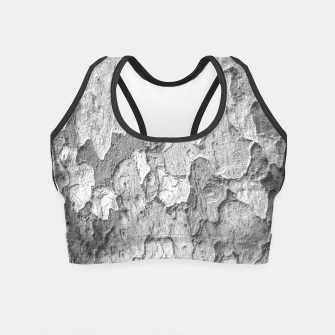 Thumbnail image of Nature Texture Print Crop Top, Live Heroes