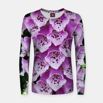 Thumbnail image of Lavender Flower Women sweater, Live Heroes