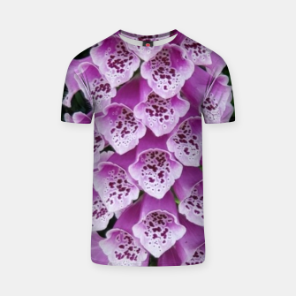 Thumbnail image of Lavender Flower T-shirt, Live Heroes